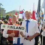 Liiton puheenjohtaja Asko Merilä ja varapuheenjohtaja Tuomo Holopainen.