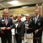 Seurasamme kansainvälinen johtaja Kalle ja Mai Elster (Viro)