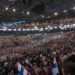 O2 Areenassa oli paikalla noin 15 000 henkilöä. Tunnelma oli hyvä.