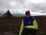 Tunturin laelta avautuivat komiat maisemat yli Kitka-järvien ja metsien